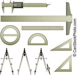 Regelmäßiges Instrument der Mathematik