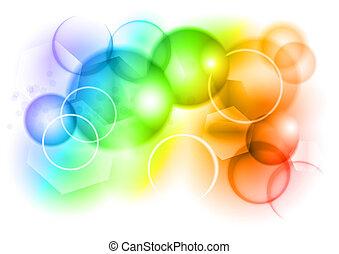 Regenbogenblase
