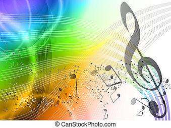 Regenbogenmusik