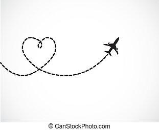 reise, liebe, begriff