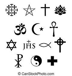 Religiöse Ikonen.
