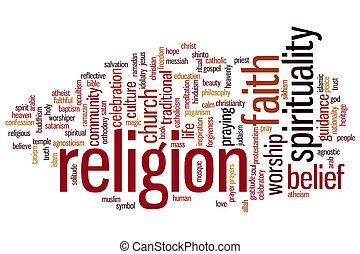 Religionswortwolke.