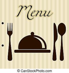 Restaurant-Menü-Hintergrund