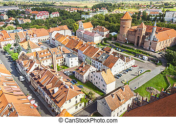 Reszel Town - Nordteil Polens.