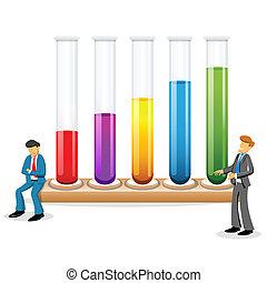 retorten, wissenschaftler