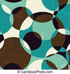 Retro abstraktes, nahtloses Muster