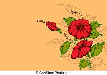 Retro-Blume