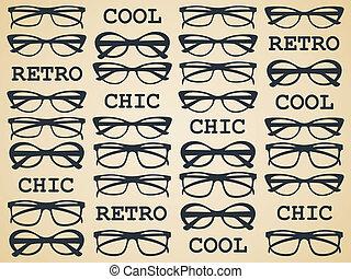 Retro Chic-Brille