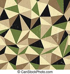 Retro-Dreiecks Hintergrund, Vektor.