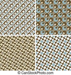 Retro geometrische Muster
