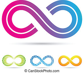 Retro-Stil-Infinity-Symbol
