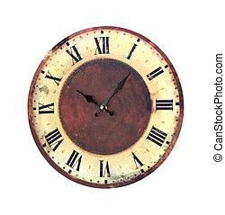 Retro-Uhr