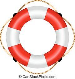 rettungsfloß, ikone