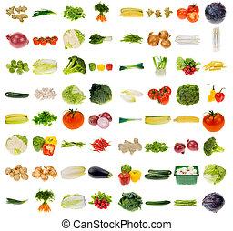 Riesige Gemüsesammlung