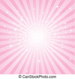 Rosa Sterne und Streifen entfernen