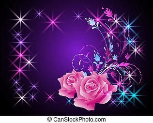 Rosen und Sterne