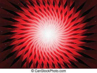 Roter abstrakter Hintergrundvektor