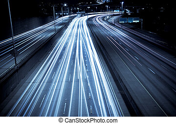 Rush-Hour-Verkehr.