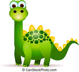 Süße Dinosaurier