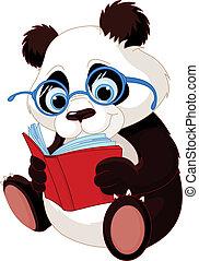 Süße Panda-Ausbildung