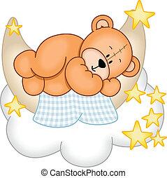Süße Träume Teddybär.