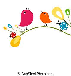 Süße Vögel