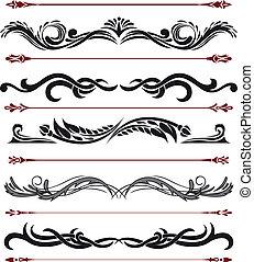 Sammeln dekorativer Elemente 9
