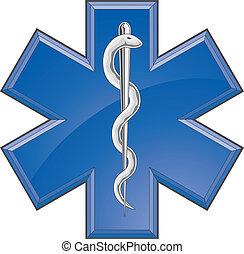 sanitäter, medizin, rettung, logo