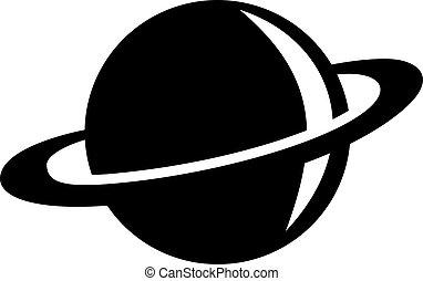 Saturnsymbol.