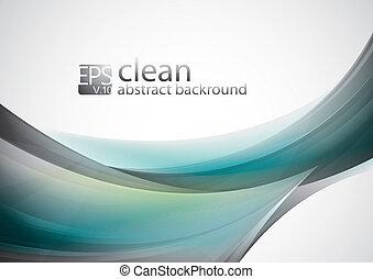 Sauberer abstrakter Hintergrund