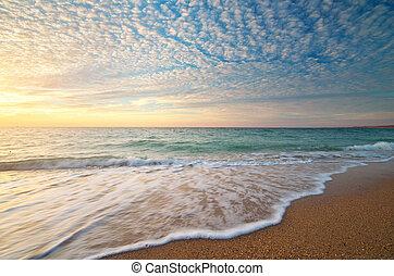 schöne , seascape.