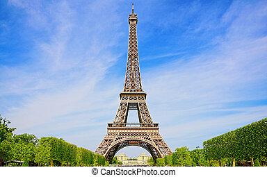 Schöner Frühling in Paris
