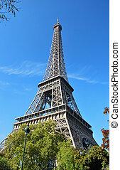Schönes Foto vom Eiffelturm in Paris
