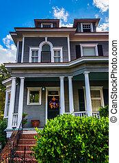 Schönes Haus in Charleston, South Carolina.