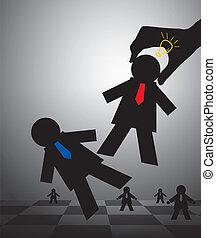 Schach für Geschäftskonzepte