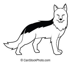 schafhirte, hund