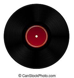 scheibe, vinyl