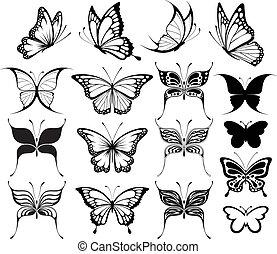 Schmetterlings-Clipart