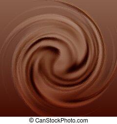 Schokoladencremewirbel
