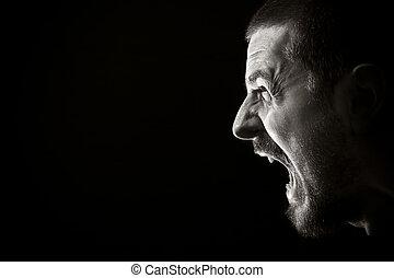 Schrei der Wut