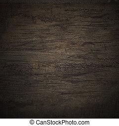 Schwarze Wand Holz Textur.