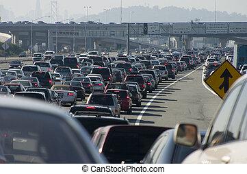Schwere Verkehrsstau 2