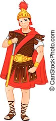 schwerter, römische soldaten, besitz