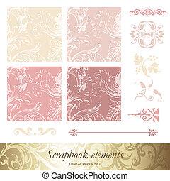 Scrapbook-Elemente
