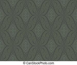 Seamless damask wallpaper backgroun