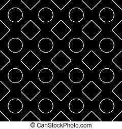 seamless, kunst, pattern., linie