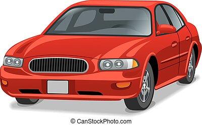 sedan, auto, modern