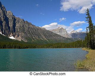 See in kanadischen Rockies
