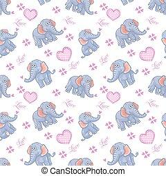 Seelose Elefantenkinder.