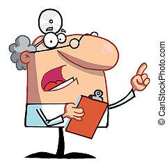 Senior männlicher Arzt